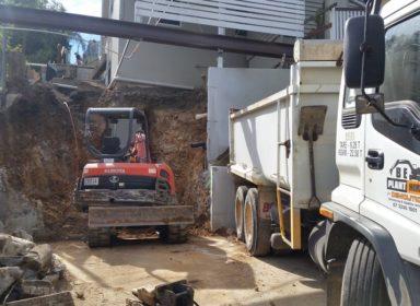 Excavator Hire Brisbane Equipment at work